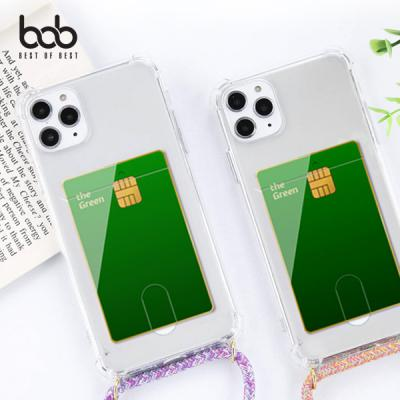 bob 카드업 트래블러 스마트폰 분실방지 숄더 스트랩 케이스 갤럭시 A21s A31 A51 A71 A90 5G A40 M30 A80 A40