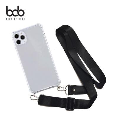 bob 밴디 트래블러 분실방지 숄더 스트랩 핸즈프리 엘지폰 케이스 LG 벨벳 V50 s V40 V30 G8 G7 G6 Q61