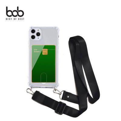 bob 밴디 카드업 트래블러 스마트폰 분실방지 숄더 스트랩 케이스 갤럭시 A21 A31 A51 A71 A90 5G A80 A50/40/30