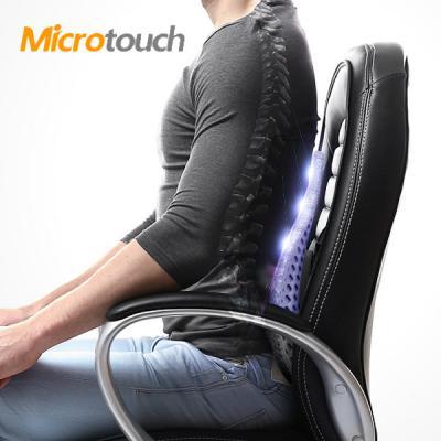Micro Touch 3중 쿠셔닝 입체 듀얼 허리 요추 받침대 (오피스 스탠다드) 등받이 차량용 가정용 사무실