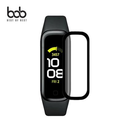 bob 갤럭시핏2 fit2 3D 곡면 풀커버 PET 보호필름 엣지커버 충격 스크래치방지
