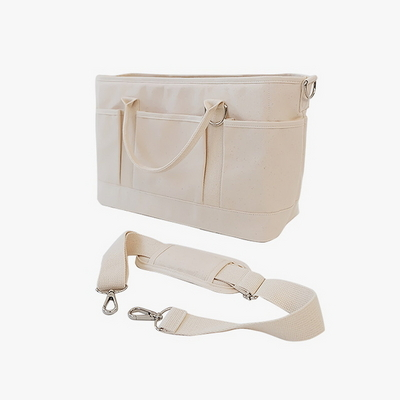 Cross Carry Bag - ivory