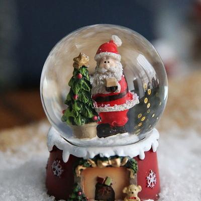 크리스마스 스노우볼 워터볼 S - 산타클로스 B - 막스(MARKS)