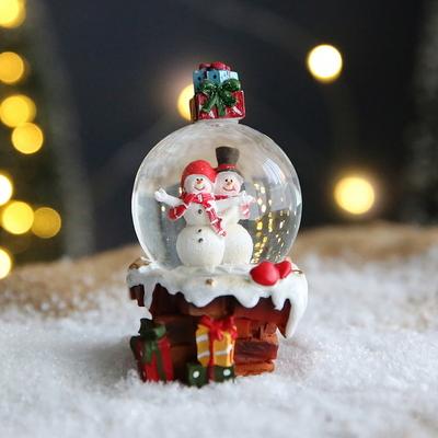 크리스마스 스노우볼 워터볼 S 선물 - 스노우맨 -막스