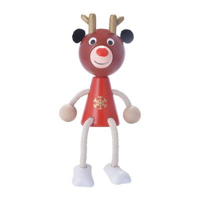 크리스마스 장식 소품 순록-산타 나무인형 - 막스(MARKS)