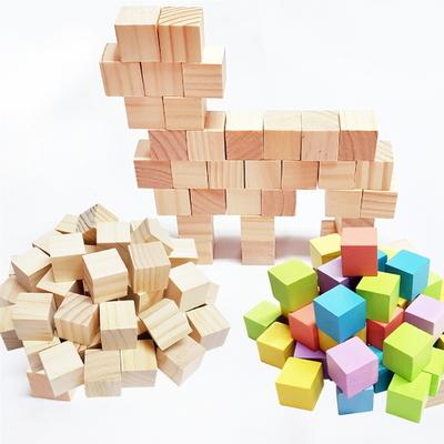똑똑한 큐브 쌓기나무 50pcs