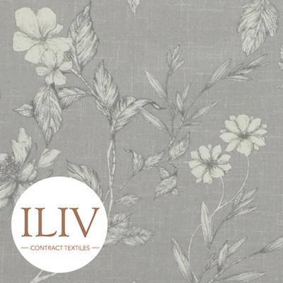 ILIV Etched Vine Fabric Feather 커튼원단 쿠션원단 여름원단