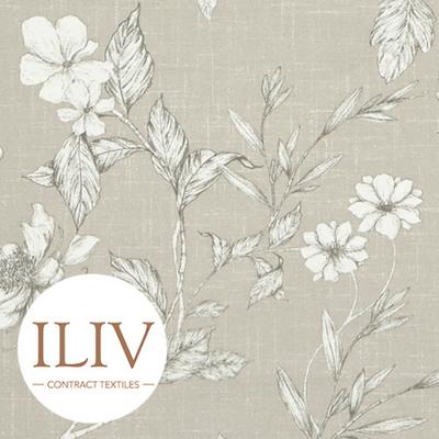ILIV Etched Vine Fabric Sandstone 커튼원단 쿠션원단 여름원단