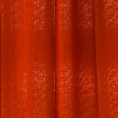 쥬라식 벨기에수입원단 오렌지 커튼 거실커튼