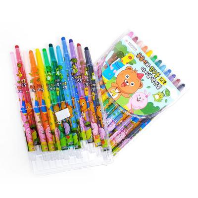4876  곰곰이와친구들12색색연필