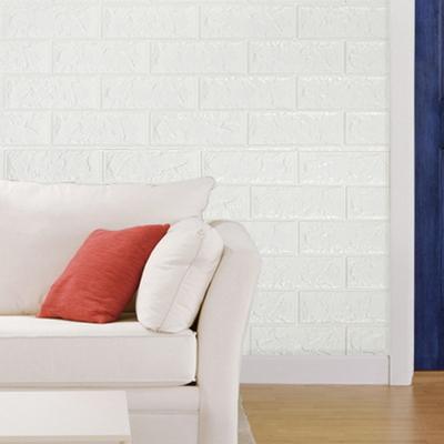 YP 폼블럭 디자인벽지 단열벽지 포인트벽지 70x230 화이트