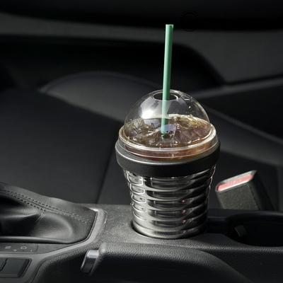 스테인레스 진공 보온 보냉  차량용 컵홀더 1단형
