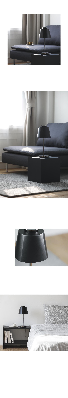 루미르4E 테이블램프 블랙 (4단계밝기조절 USB전원) - 루미르, 153,000원, 리빙조명, 테이블조명