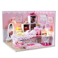 DIY 미니어쳐 하우스만들기-M001_핑크 레이스
