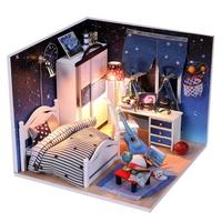 DIY 미니어쳐 하우스만들기-M008_우주별 침실