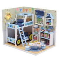 DIY 미니어쳐 하우스만들기-M019_자동차 2층침대