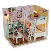 DIY 미니어쳐 하우스만들기-M020_가랜드 2층 침대