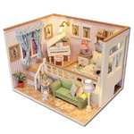DIY 미니어쳐 하우스만들기-M026_반층 피아노