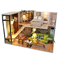 DIY 미니어쳐 하우스만들기-M030_풀 하우스