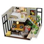 DIY 미니어쳐 하우스만들기-M031_가드닝 2층집