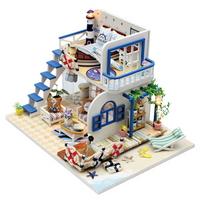 DIY 미니어쳐 하우스만들기-M032_산토리니