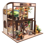 DIY 미니어쳐 하우스만들기-M027_로맨틱 커피숍