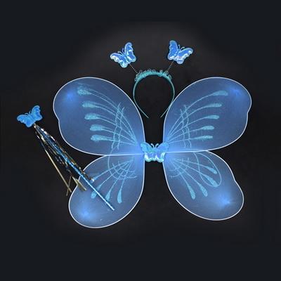 천사요정 나비날개+봉+머리띠 세트 파티용품