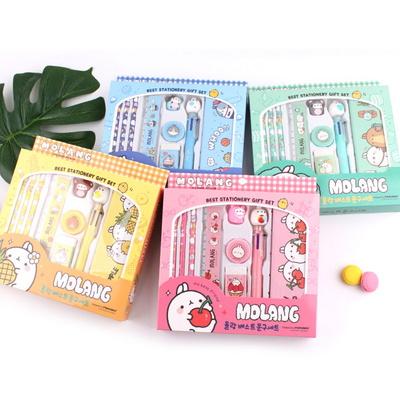 몰랑이 베스트 문구세트-학용품세트 초등학교 입학선물