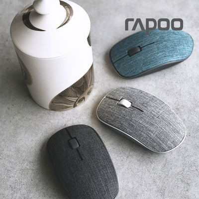 빨아쓰는 페브릭 무선마우스 RAPOO 3510 PLUS