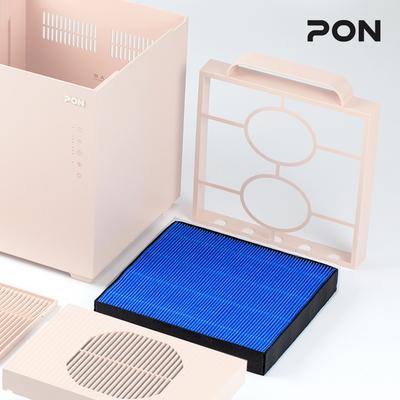 PON 공간을 채우는 자연기화식 대용량 큐브 가습기 필터