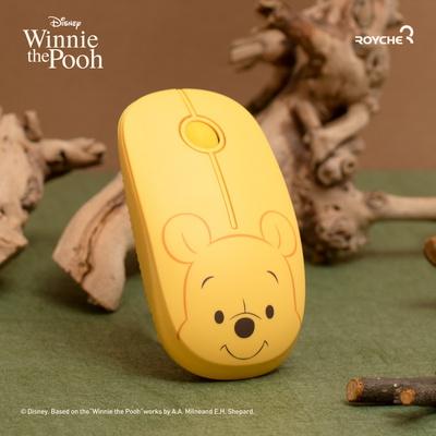 로이체 디즈니 무소음 무선 마우스 곰돌이 푸&피글렛