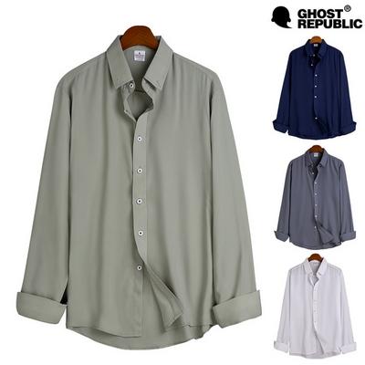 고스트리퍼블릭 MSH-535 루즈핏 링클프리 긴팔 셔츠