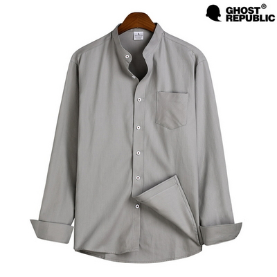 고스트리퍼블릭 MSH-543 베이직 차이나넥 긴팔 셔츠