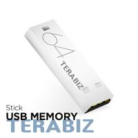 USB 메모리 스틱 64G 화이트 USB2.0빠른속도 빠른인식