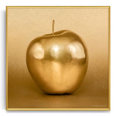 풍수인테리어 금전운액자 정사각형 행운황금사과