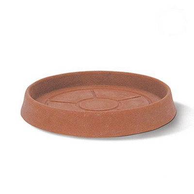 인테리어 플라스틱 화분받침대 라운드 소서(24cm)