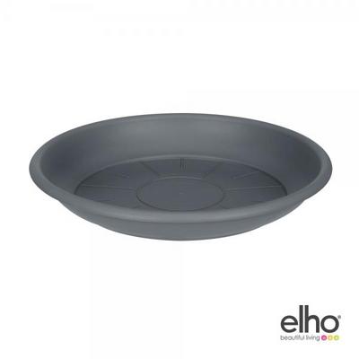 [엘호 elho] 소서 라운드 플라스틱 화분받침대(14cm)