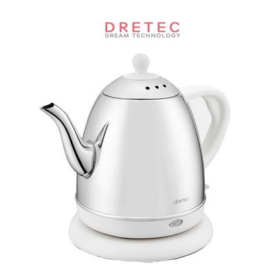 드레텍 전기주전자 커피포트(화이트)