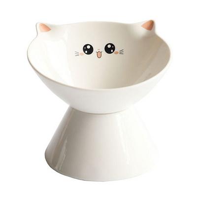 탁펫 고양이 쁘띠 도자기 밥그릇