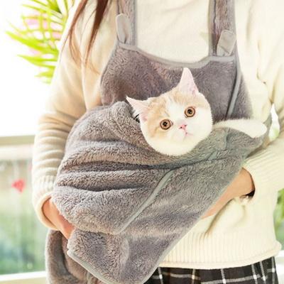탁펫 애완동물 캥거루 앞치마