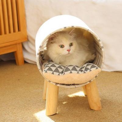 탁펫 고양이 강아지 터널침대