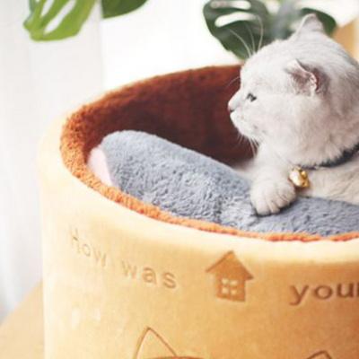 탁펫 냥냥이 고양이 방석