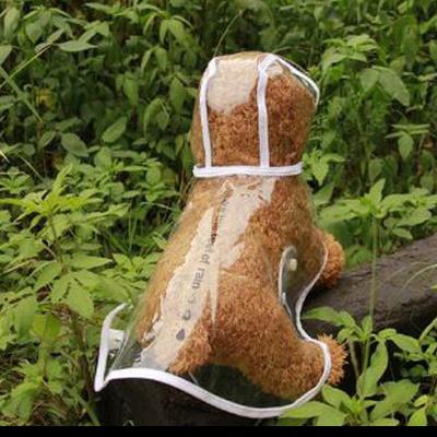 탁펫 러블리 강아지 투명우비