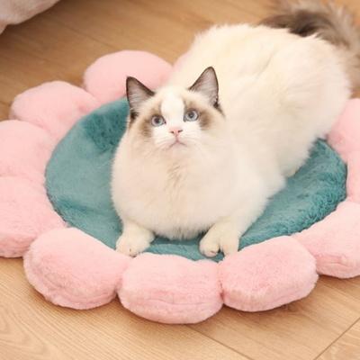 탁펫 강아지 고양이 우물방석