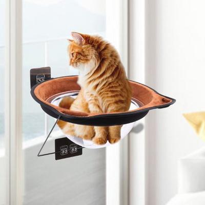 탁펫 부착식 고양이 윈도우 해먹