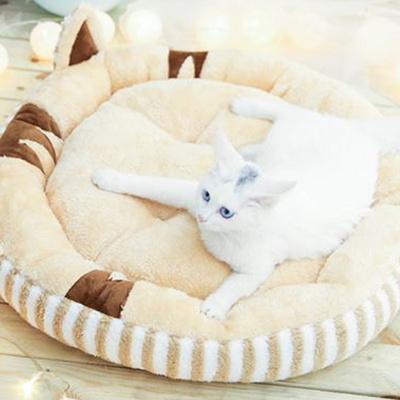 탁펫 스트라이프 고양이 방석