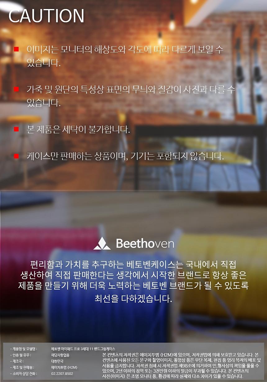 베토벤 아이패드 프로 3세대 11.0 핸드그립 바타입 케이스 - 베토벤, 40,000원, 케이스, 아이패드/미니