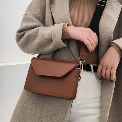엘라 모던 깔끔 사각 크로스백 여성가방