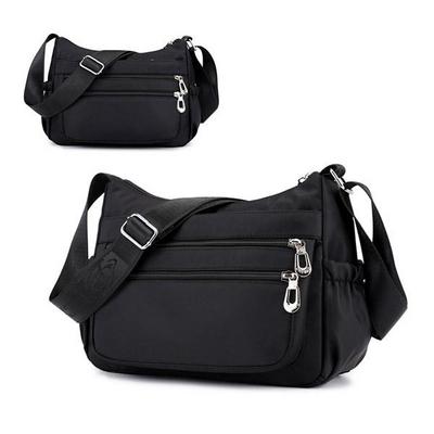 롤란 생활방수 수납왕 가벼운 크로스백 여행 보조가방