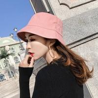양면 여성 버킷햇 벙거지 데일리 모자 패션모자